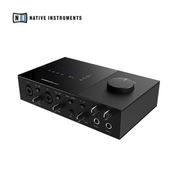 [NATIVE INSTRUMENTS] KOMPLETE AUDIO 6 MK2 - 6채널 오디오 인터페이스